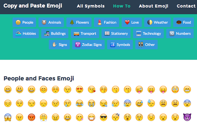 Emoji Faces Copy And Paste | Template Business