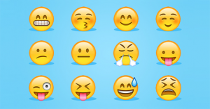 emoji faces copy and paste share