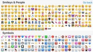 emoji text copy and paste us iphone emoji bar for keyboard emoji autocomplete full screen emojis sorted by popularity