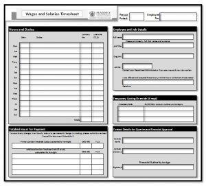 employee agreement template timesheet basic