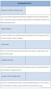 employee application form pdf examination form format