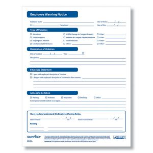 employee application forms a complyright employee warning form printable pdf xl