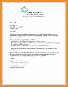 employee contract sample letter of offer template job offer letter fbaecabfac