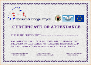 employee contract sample sample certificate of attendance template
