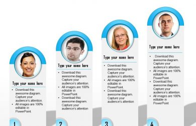 employee development plan templates graphic for team introduction slide