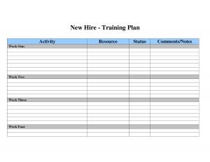 employee development plan templates training plan template wrftrh