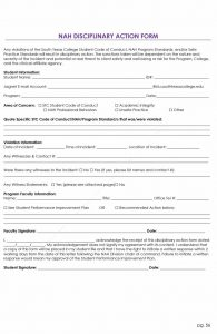 employee disciplinary action form employee write up form