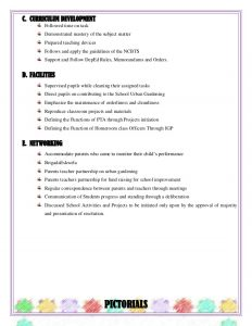 employee evaluation questions accomplishment report grade six