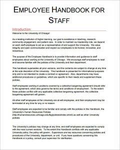 employee handbook sample employee rights1