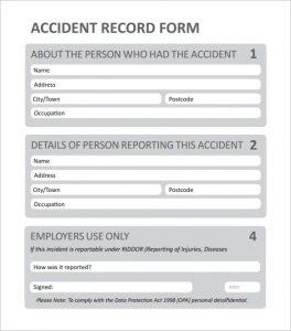 employee incident reports employee incident report template