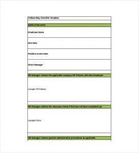 employee onboarding checklist onboarding checklist excel format template