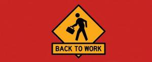 employee resign letter back to work