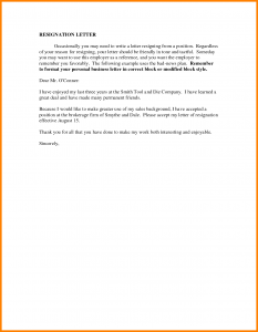 employee resign letter how to write a friendly resignation letter