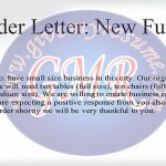 employee resignation letter order letter new furniture