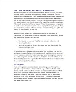 employee review sample performance management review template