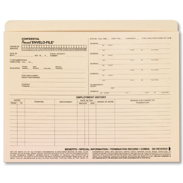 employee separation form