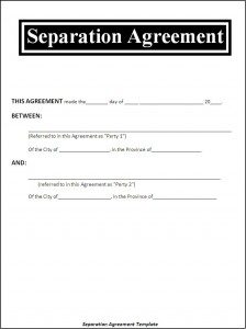 employee separation form seperation agreement template x
