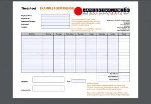 employee sign in sheet timesheet example x
