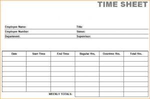 employee timesheet template printable time card printable blank pdf time card time sheets