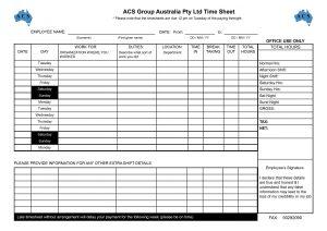 employee timesheet template timesheet