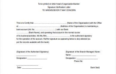 employee verification letter employee verification letter for bank