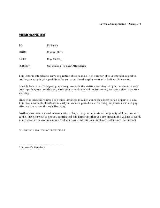 employee written warning form