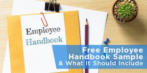 employees manual template free employee handbook sample what it should include