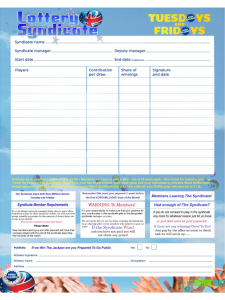 employment agreement template simple lottery syndicate agreement form d