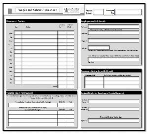 employment agreement template timesheet basic