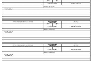 employment application form pdf simple employment application form