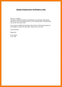 employment confirmation letter employment confirmation letter template doc