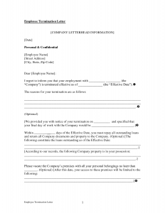 employment termination letter how to write a termination letter to an employee livmooretk