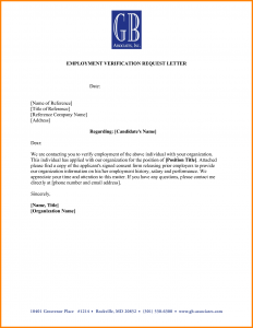 employment verification form template employment varification letter employment verification letter template verify job letter hlqnbhr