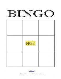 empty bingo card free printable blank bingo cards template