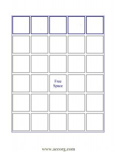 empty bingo card ibabingoblanksheetnolabel