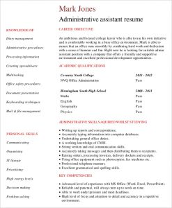 entry level administrative assistant resume entry level administrative assistant resume by profession
