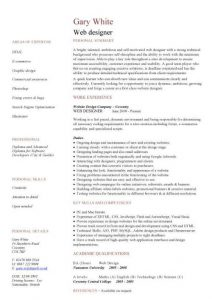 entry level cover letter examples pic web designer cv template