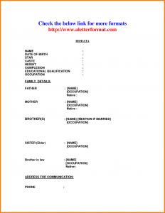 entry level resume template best biodata format for job biodata format for job marriage biodata format