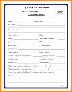 entry level resume template biodata for job application biodata form for job application employment application sample form