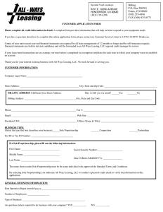 equipment rental agreement equipment lease agreement