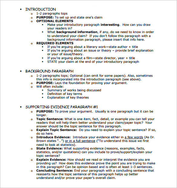 essay outline example  template business essay outline example