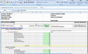 estimate template excel construction cost estimate template excel