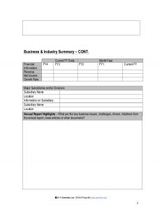 evaluation form template strategic account plan template