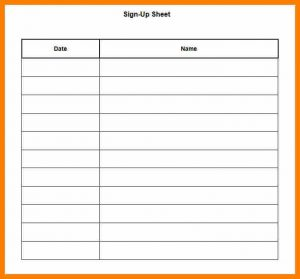 event checklist template food sign up sheet template sign up sheet template printable