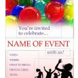 event flyer templates free party invitation flyer