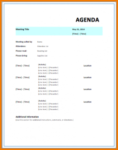 event itinerary template meeting itinerary template strategic meeting agenda