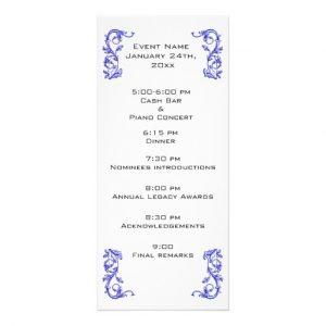 event program template customized event program template rackcard rcaedcebbebbab vgvr byvr
