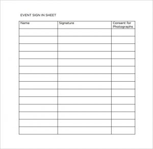 event sign in sheet resident event sign in sheet