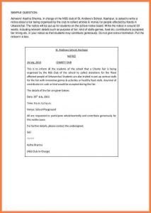 eviction letter sample how to write notice notice writing cb