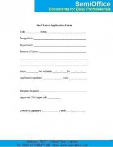eviction notice sample employee leave application form sample